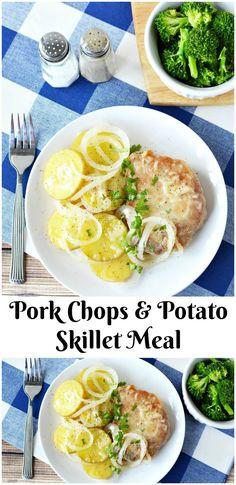 Pork Chops & Potato