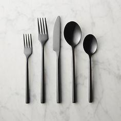 20-piece knight flatware set |cb2 $89.95