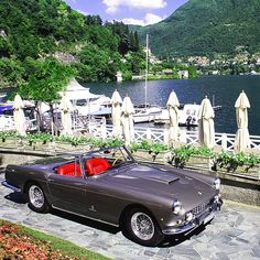 combustible-contraptions: 1960 Ferrari 250 GT Pininfarina Cabriolet Series II | LWB Scaglietti | Long Wheelbase | Sports Convertible | 3.0 L V12 240hp | Only 4 prototypes and 36 units were ever produced | Belly