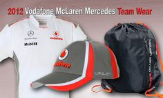 2012 Vodafone McLaren Team Apparel. Available at www.paddockstudio.com