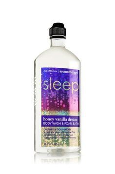 Bath and Body Works Aromatherapy Sleep Honey Vanilla Dream Lullaby & Good Night Body Wash & Foam Bath 10 Oz by Bath & Body Works. $12.99. New for 2012 honey vanilla dream body wash and foam bath. 10 oz