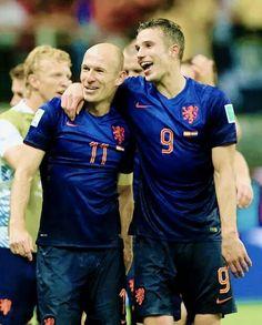 Robben and Van Persie.