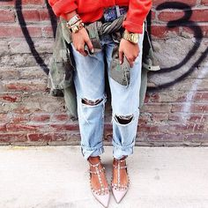 a7deb7efbe2 Off the Cuff  6 Cool-Girl Ways to Cuff Your Jeans