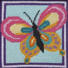 Butterfly - Needlepoint Kit Alice Peterson http://www.amazon.com/dp/B004LHUSR8/ref=cm_sw_r_pi_dp_u4IUvb0N55V21