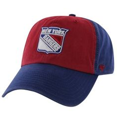 0f4a197177866e '47 Brand New York Rangers Sophomore Franchise Adjustable Hat - Red/Royal  Blue