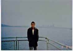 This photograph was taken in Seattle before he left for his voyage.