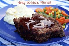 Mommy's Kitchen - Old Fashioned & Southern Style Cooking: Honey Barbecue Meatloaf