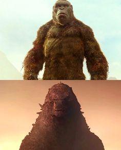 Two rival. Will their be a winner among them? All Godzilla Monsters, Godzilla Comics, Godzilla Birthday Party, King Kong Vs Godzilla, Foto Top, Most Popular Movies, Fox Kids, Skull Island, Film Images