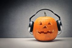 """A comprehensive playlist of Halloween songs that aren't """"Thriller"""" or """"The Monster Mash"""". This list is great for your trick-or-treat visitors or theme party."""