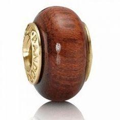 Outlet Sale Pandora 14K Muirapiranga Brown Wood Bead