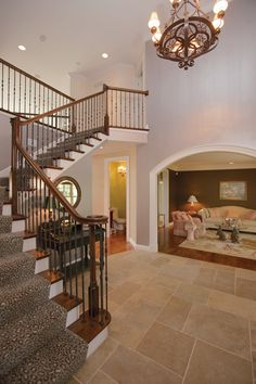 Avanti Acadian Country Home Staircases Luxury and French house plans