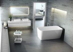 A Banheira Edge possui linhas retas e design futurista e têm a durabilidade e resistência como principais diferenciais. Produzida pela marca inglesa Victoria + Albert, a Banheira Edge de estilo contemporâneo, transforma o banheiro em um espaço muito mais elegante.