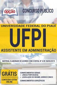 Apostila Preparatoria Concurso Universidade Federal Do Piaui