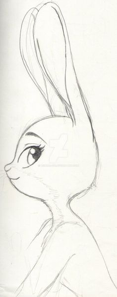 """cloudyloudy:"" Judy By: Ashura-ou ""Beautiful indeed . - : ""cloudyloudy:"" Judy By: Ashura-ou ""Beautiful indeed . Easy Doodles Drawings, Art Drawings Sketches Simple, Girl Drawing Sketches, Girly Drawings, Pencil Art Drawings, Disney Drawings, Cartoon Drawings, Animal Drawings, Art Sketches"
