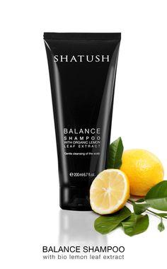 SHATUSH BALANCE SHAMPOO with BIO Lemon Leaf Extract shatushproducts.com
