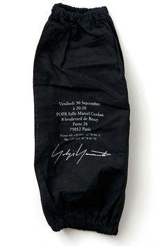 Yohji Yamamoto Invitation 2012