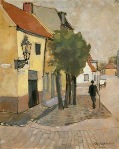 Am Sandpfad in Emden, Felix Nussbaum. German-Jewish (1904 - 1944)