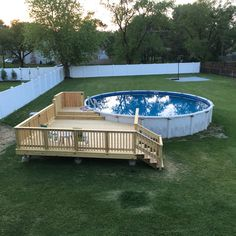 Having a pool sounds awesome especially if you are working with the best backyard pool landscaping ideas there is. How you design a proper backyard with a pool matters. Above Ground Swimming Pools, Swimming Pools Backyard, Swimming Pool Designs, In Ground Pools, Indoor Pools, Diy In Ground Pool, Above Ground Pool Landscaping, Backyard Pool Landscaping, Backyard Pool Designs