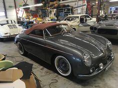 porsche 356 speedster replica soft top, extra low bow Porsche Roadster, Porsche 356 Speedster, Porsche Cars, Porsche 356 Replica, Porsche 356 Outlaw, Triumph Bikes, Mode Of Transport, Classic Cars, Porsche Classic