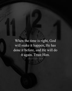 Distance Quotes :On God's perfect timing - Quotes Daily God Prayer, Prayer Quotes, Bible Verses Quotes, Jesus Quotes, Faith Quotes, Spiritual Quotes, The Words, Perfect Timing Quotes, Faith In Love