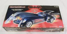 Batman and Robin Batmobile Toy 1997 Kenner Film Version Movie Freeze Ice Missile #Kenner