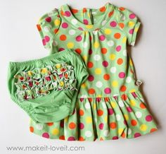 Turn Long Sleeves to Short {with added Bow Front} | Make It and Love It