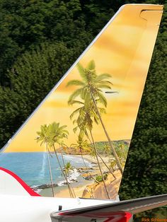"""Air-India Express VT-AXX """"Beach"""" Civil Aviation, Aviation Art, Airplane Decor, Airplane Window, Air India Express, Airplane Painting, India Poster, Airline Cabin Crew, Commercial Plane"""