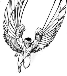 8 Best Lineart Falcon images