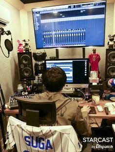 #Yoongi'sStudio