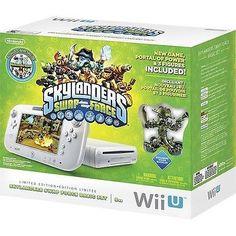 NINTENDO Wii U 8GB Console w/ Skylanders: SWAP Force Basic Set