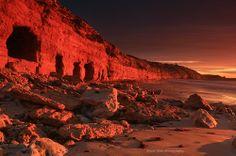 Red Cliffs, South Australia -  by David Gibbs