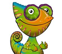Character Design – Cammie the Chameleon by Eoin McKeown