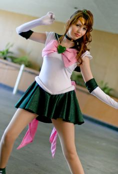 Sailor Jupiter #Cosplay #SailorMoon