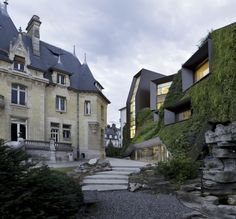 Architizer Blog » Building Of The Day: A Green Thumb For An Historic French Structure