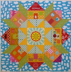 Swoon Houses quilt block