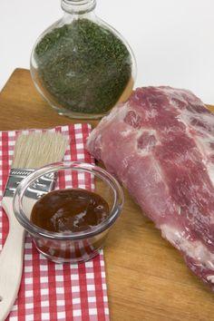 Cómo hacer una marinada (adobo) sencilla de salsa barbacoa y miel para usar en costillas, pollo y cerdo