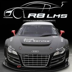 #WantAnR8 race version. Winning and beautiful