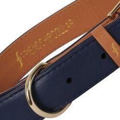 Classic Pup - Monaco Blue  Friendship Collar- animal friendly/vegan materials.