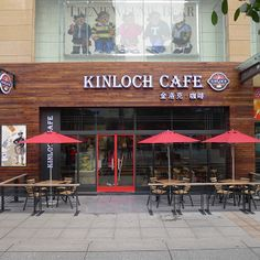 Scottish cafe in Chongqing, Kinloch Cafe by RED Design Consultants- Shanghai and Bangkok