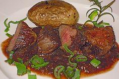Lamm an Balsamico-Feigen-Sauce 1