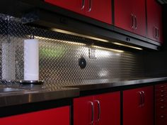 Bon Four Piece Diamond Plate Organization   Car Guy Garage | Diamond Plate  Garage Cabinets | Pinterest