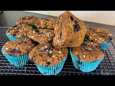Wild Blueberries, Blue Berry Muffins, Blueberry, The Creator, Baking, Breakfast, Easy, Food, Blueberry Crumb Muffins