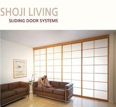 Japanese sliding doors ...love