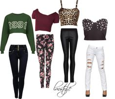 """""""Requested: Crop Top Outfits ~ Leigh Anne"""" by lmstyles ❤ liked on Polyvore"""
