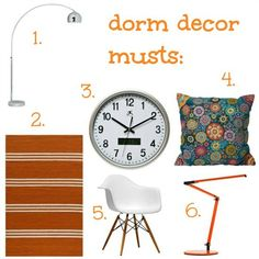 Dorm Room Must Have Accessories | Dorm Decorating Ideas on Style Illuminated