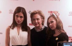Pussy Riot Meets Hillary Clinton
