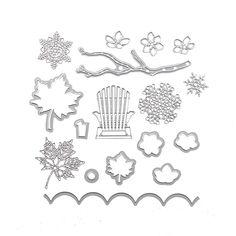yanQxIzbiu Cutting die Fashion Knitting Wool Needle Carbon Steel Cutting Die Card Scrapbook Stencil 2