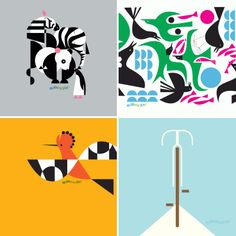 Lovely design desktop wallpapers from Eleanor Grosch