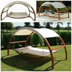 Ok who else wants one of these?? This hammock bed would be great to take naps in the backyard!  Find it here: http://amzn.to/2kvIUZX