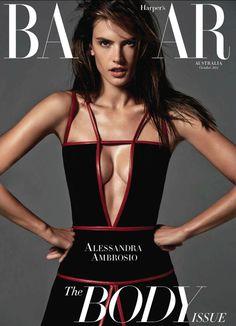 Harper's Bazaar Austrália Outubro 2014   Alessandra Ambrosio por Simon Upton